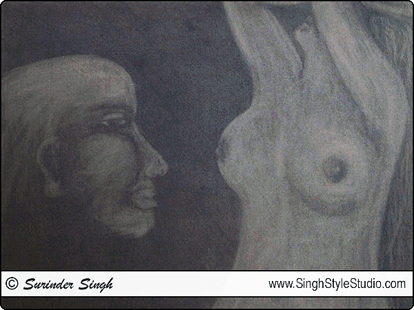 Figurative Artist in Delhi India