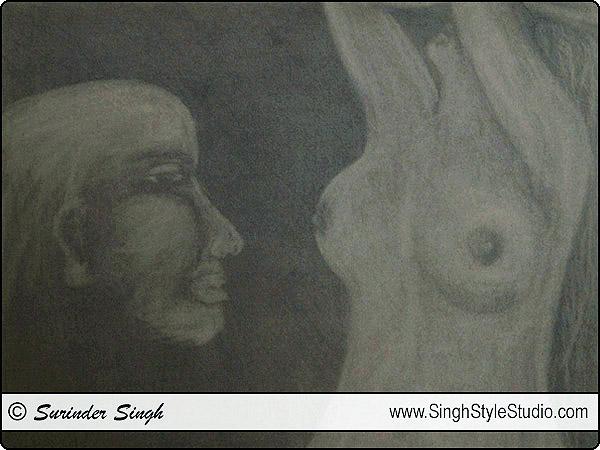 Figurative Modern Fine Art in Delhi India Surinder Singh