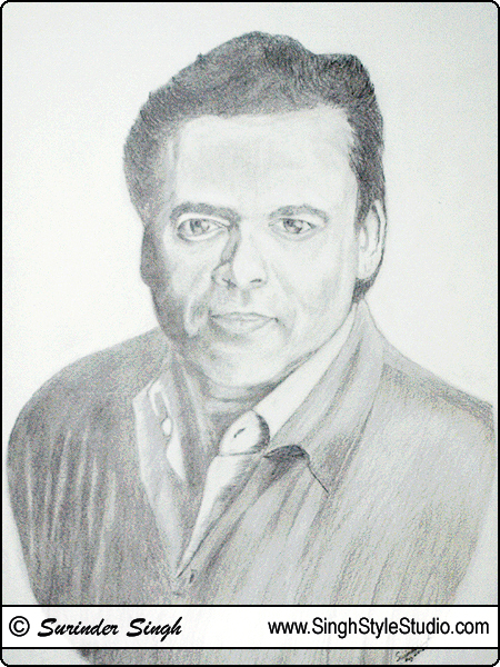 Portrait Art by Portrait Artist in Delhi India
